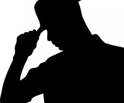 Les hommes à chapeau