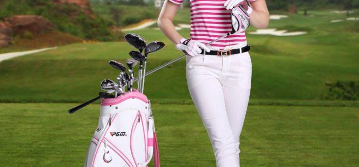 Carole au golf
